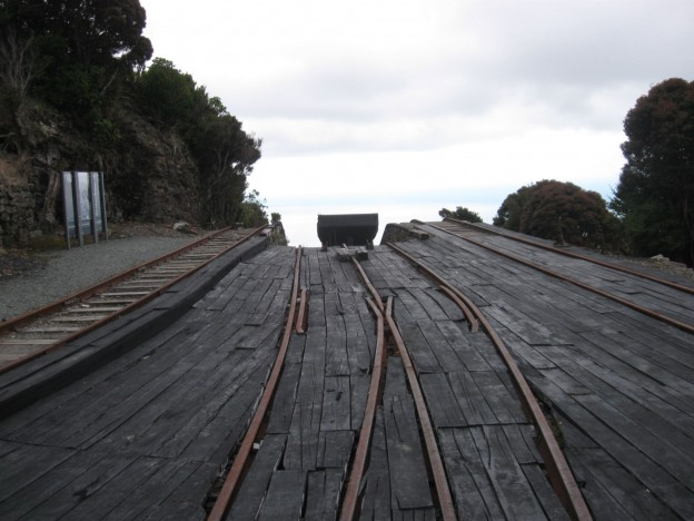 The start of the Denniston incline.