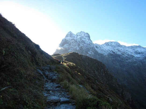 Image of the Mackinnon Pass Ascend