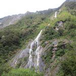 Image of rain-made waterfall