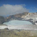 Image of Ruapehu's crater lake